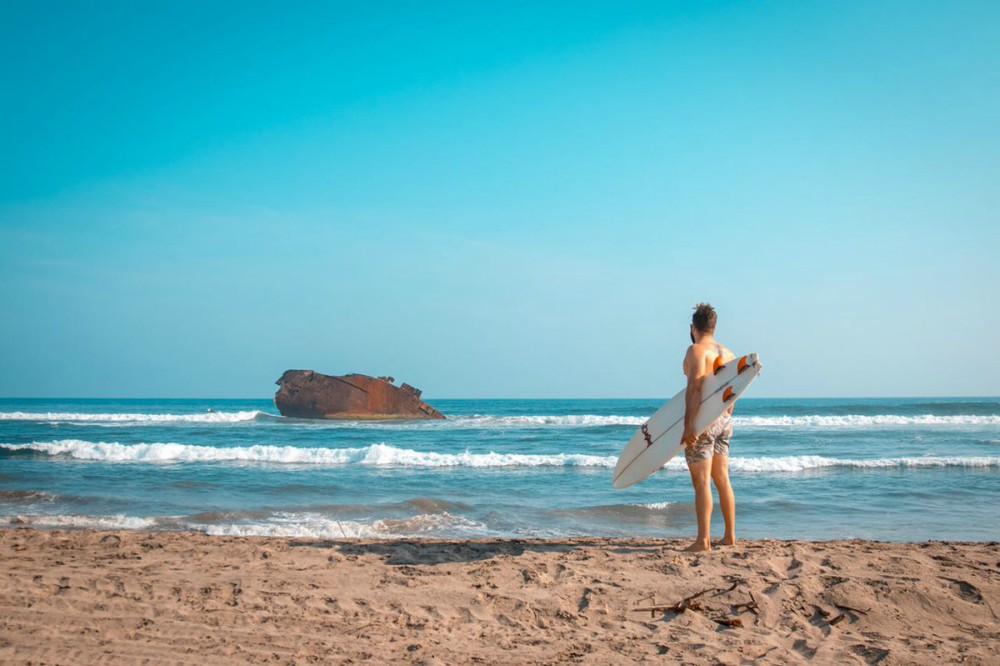 Playas para acampar Ticla